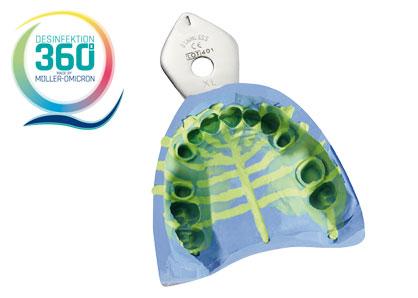 Abformung mit Desinfektion 360° Logo
