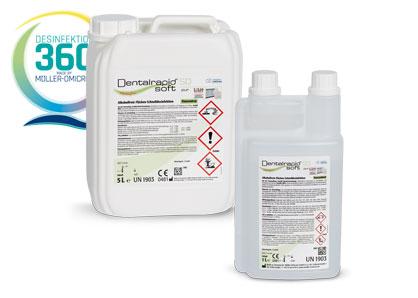 Dentalrapid soft SD pur mit Desinfektion 360 Grad Logo