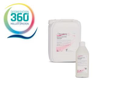 Dermapon sensitive HC lotion mit Desinfektion 360 Grad Logo