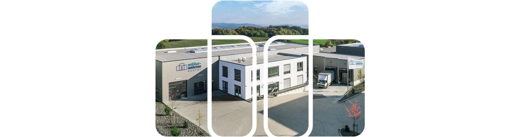 Müller-Omicron Firmengebäude